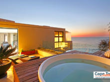 Azamare Luxury Guesthouse communal Jacuzzi with sea view