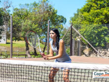 Blue Bay Relaxation Lodge Tennis Court