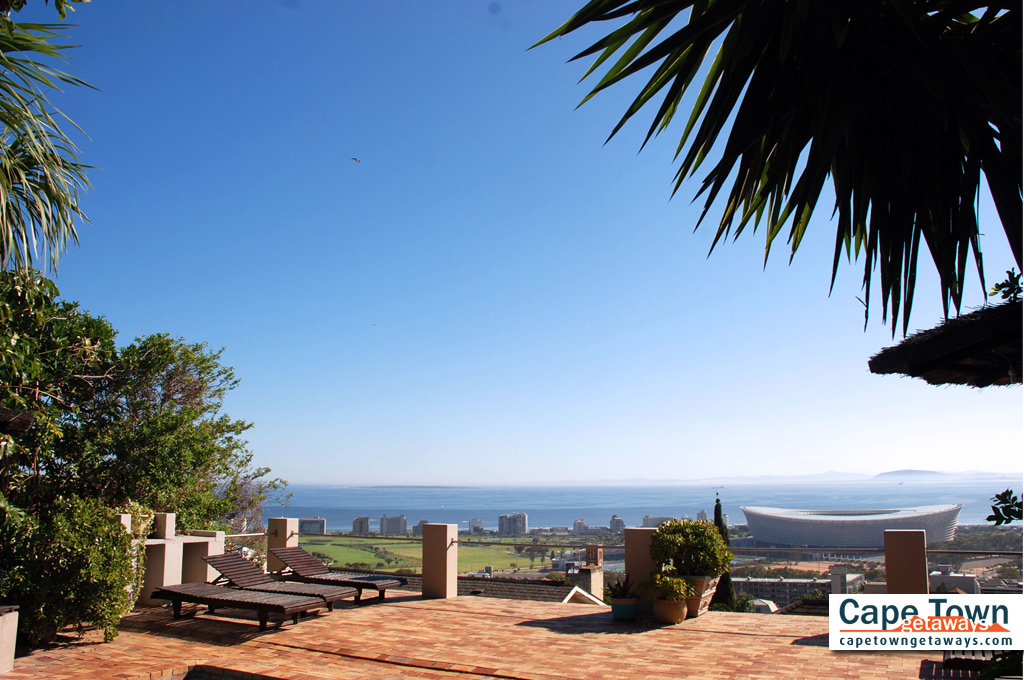 Bluegum Hill Guesthouse View of Cape Town Stadium