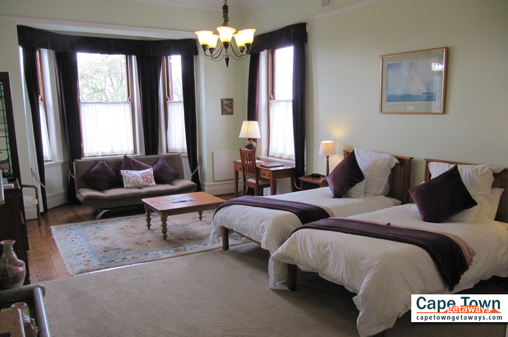 Carmichael Guesthouse Luxury Cape Town Accommodation 2nd family suite master bedroom