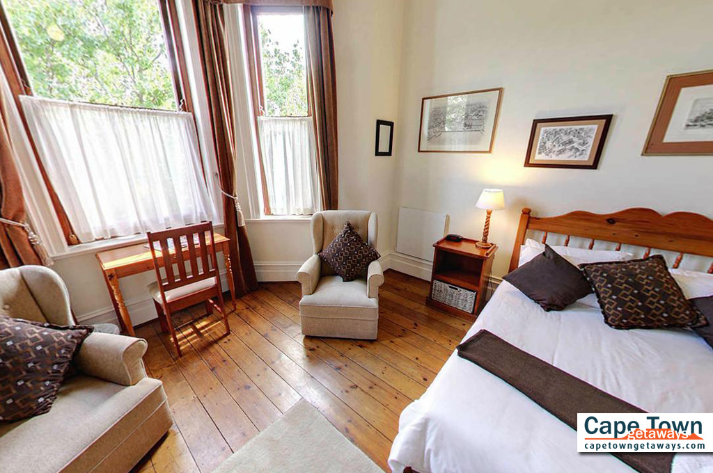 Carmichael Guesthouse Luxury Cape Town Accommodation 2nd luxury double bedroom