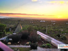 Farr Out Guesthouse Paternoster sunset view