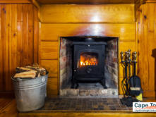 Self-Catering Cottages Knysna Fireplace