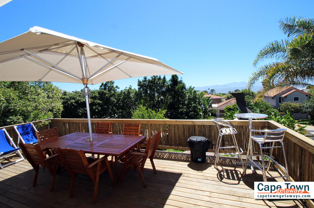 Bed and Breakfast Plettenberg Bay Deck View