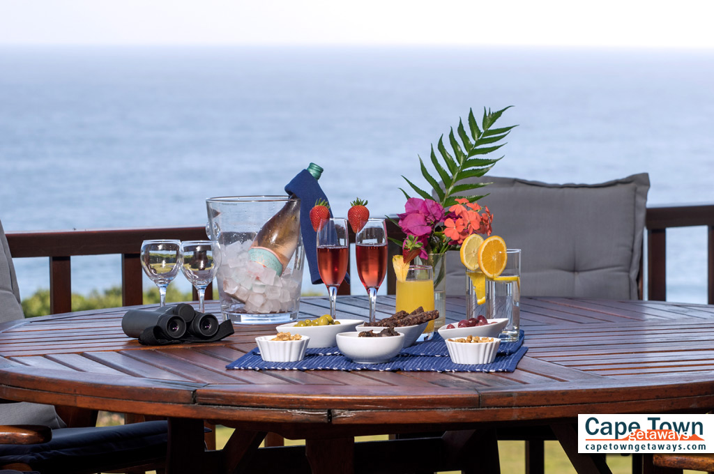 Guesthouse Wilderness Breakfast Deck