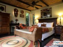 Treetops Master Bedroom Wilderness Guest Lodge