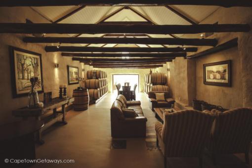 Private cellar lounge
