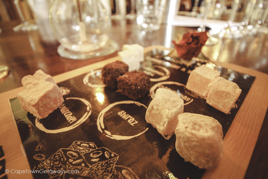 Turkish delight wine pairing at Under Oaks