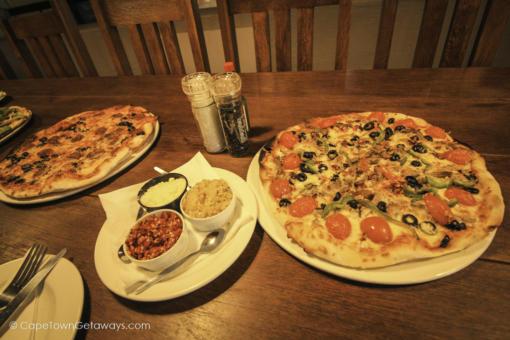 Great range of pizzas