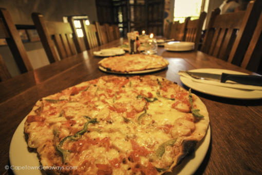 ...and more pizzas