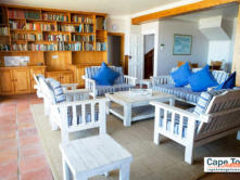 Lamberts Bay Self-Catering Downstairs Unit Lounge