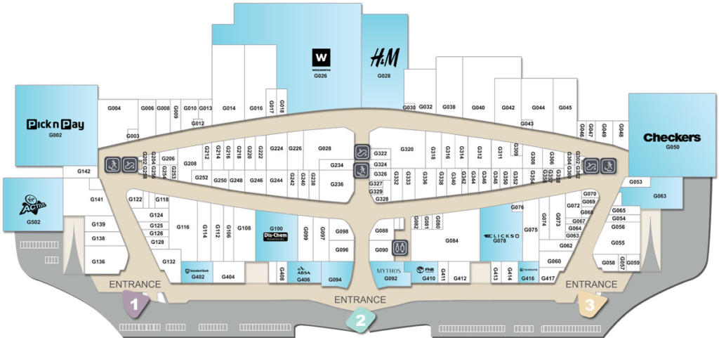 Table Bay Mall Floor Plan