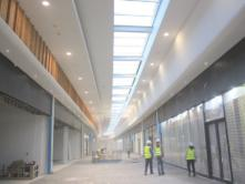 Table Bay Mall Construction Corridors