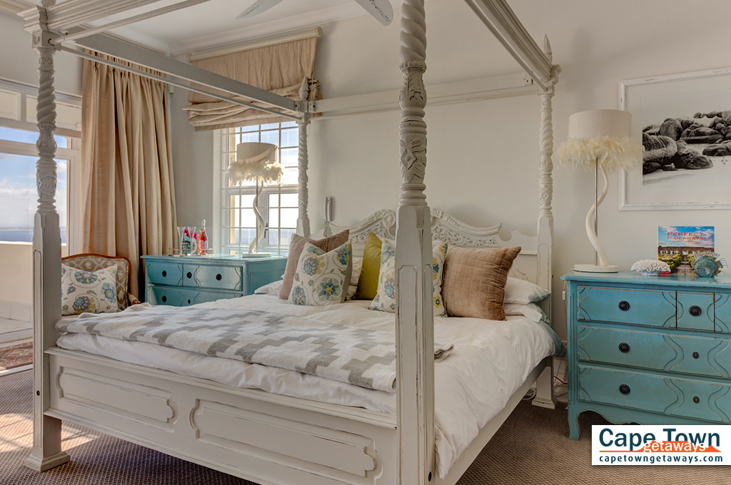Queen-size bed with bedroom