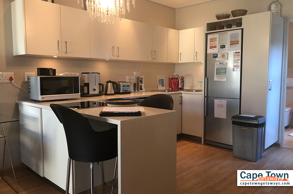 Elegant & stainless fully equipped kitchen