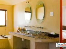 Private bathroom with bathtub