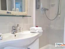 Blue ocean suite basin in bathroom