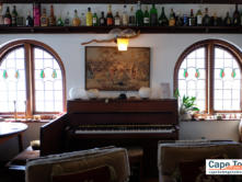 Piano and wine collection