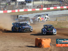 Rallycross Cape Town action