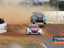 Rallycross Cape Town jumps