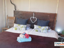 Double bed - perfect for couples!