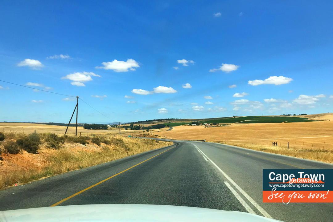 Swartland - Road from Malmesbury to Riebeek Kasteel