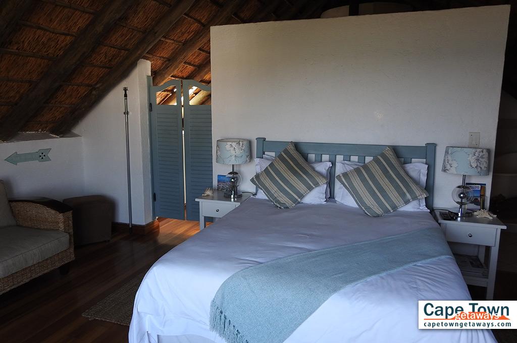 Bayview Suite - bedroom with queen-size bed